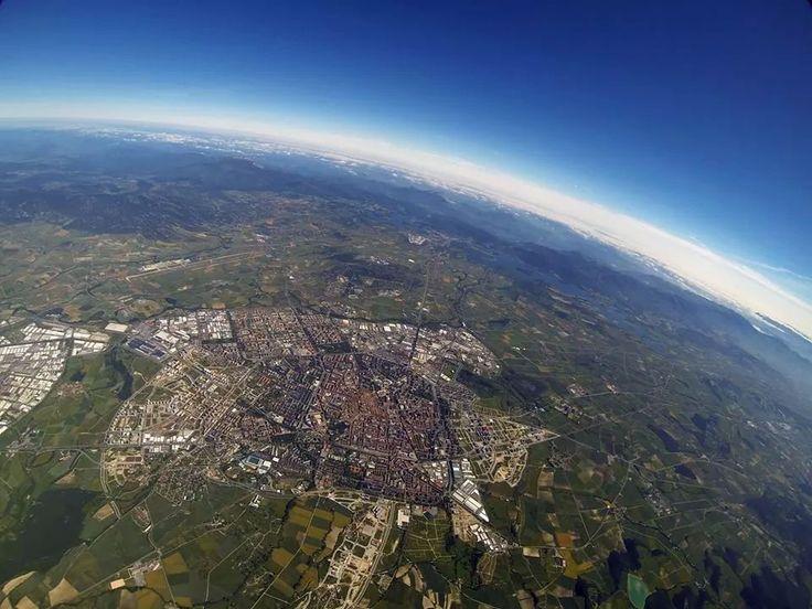 Vitoria-Gasteiz a vista de pájaro