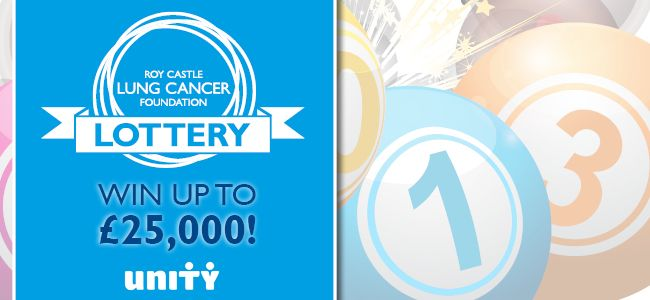 Charity lottery   Roy Castle Lung Cancer Foundation                 Roy Castle Lung Cancer Foundation