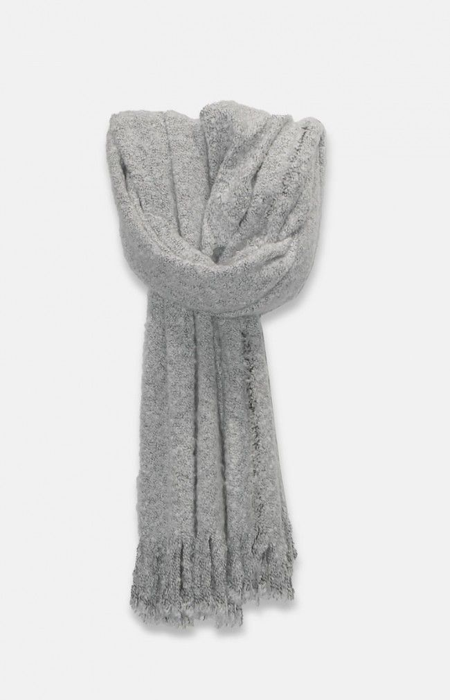 VICKY by Nümh is a maxi scarf with finge detailing.