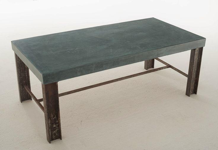 mesa microcemento restaurada
