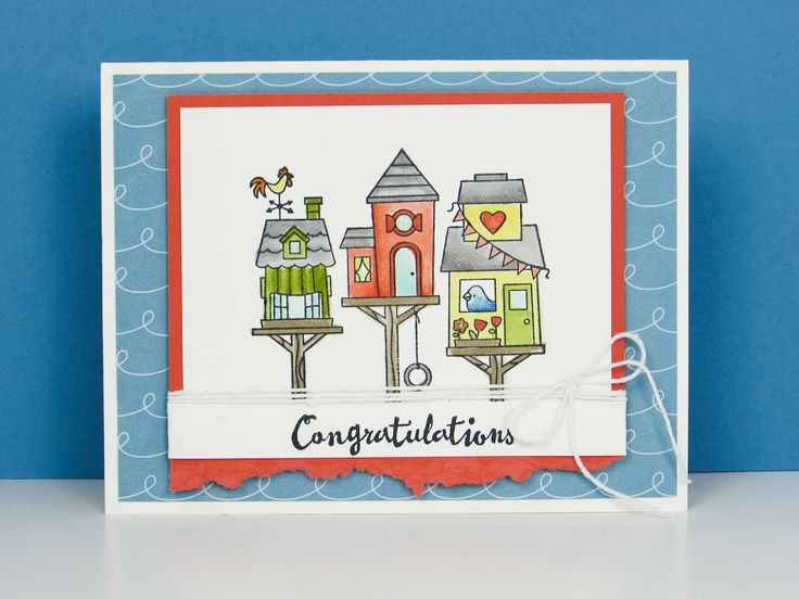 Flying Home Stamp Set - video tutorial from Brandy's Cards