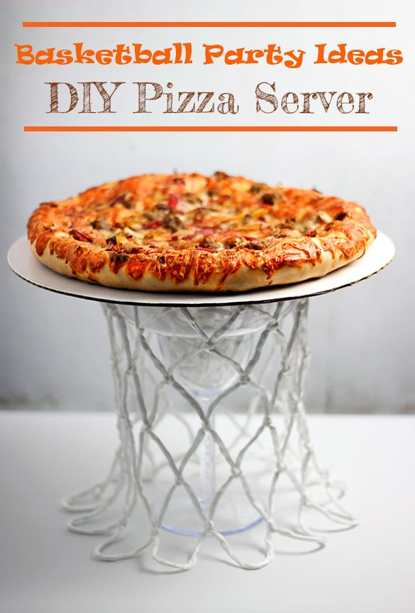 DIY Basketball Party Ideas with DIGIORNO® Stuffed Crust Pizza at Walmart #NewFavorites #cbias #shop