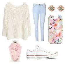 Casual outfit that can be worn whether it's a special occasion or school. Best combinated with a loose hairstyle or a messy up bun :)