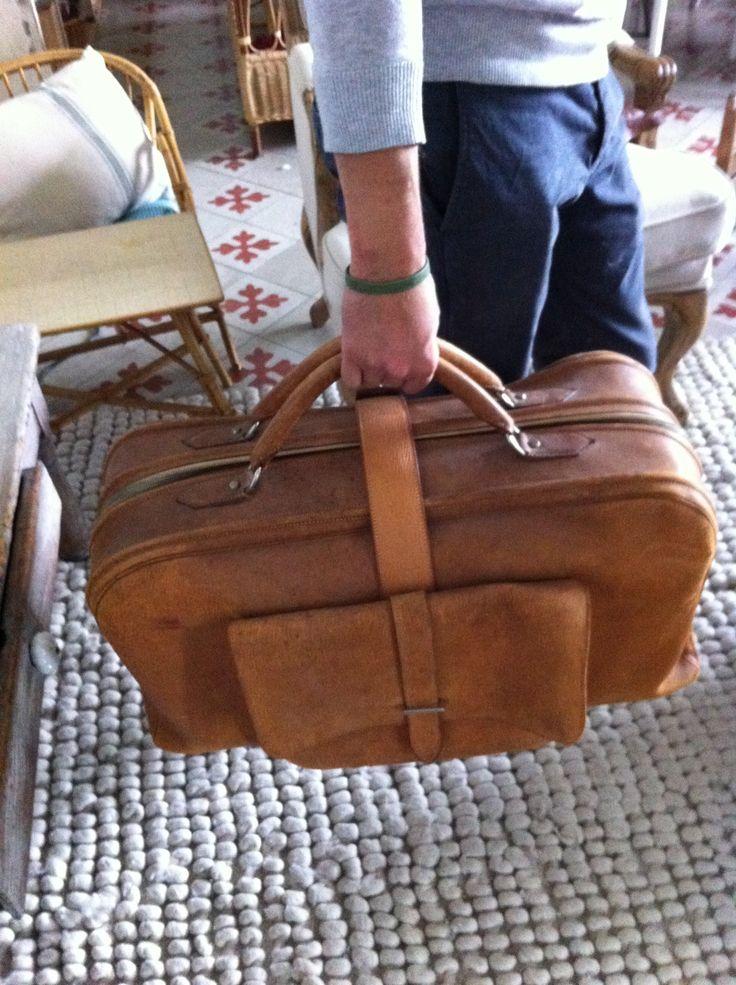 Wonderful an rare vintage hermès travel bag  circa 1930 Great vintage ! good condition   Luggage