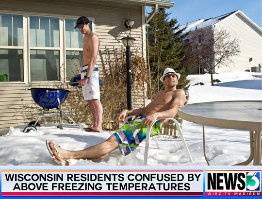 Meanwhile in Wisconsin…You guys would make great Canadians lol.