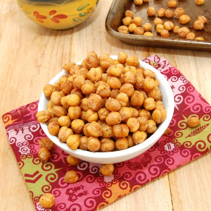 Morrocan Chick Peas snack, yummy....