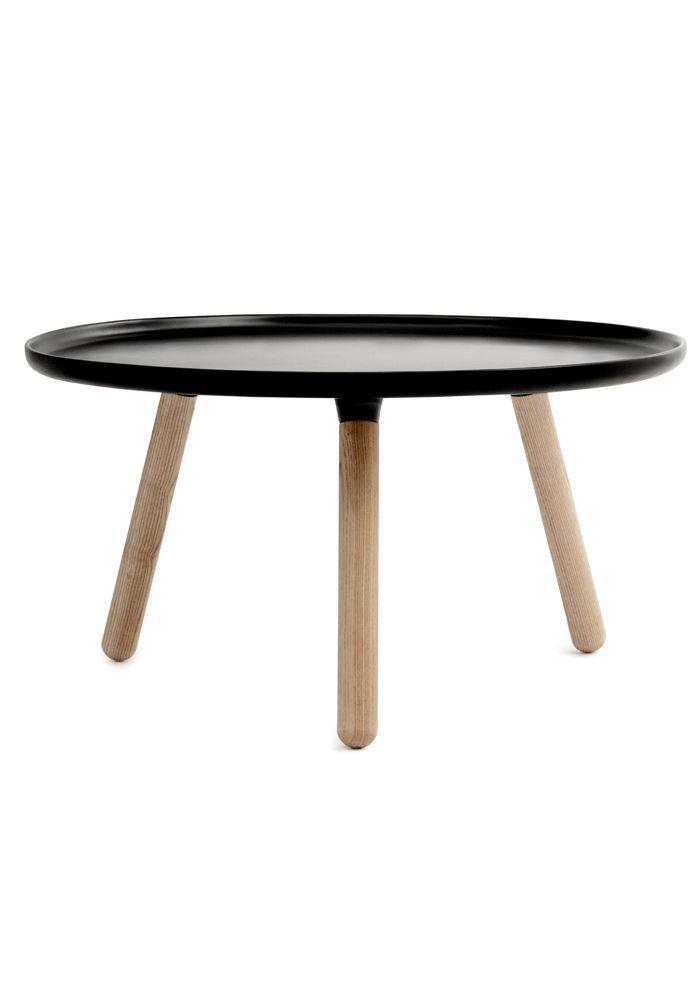 Tablo table - BLACK by Normann Copenhagen