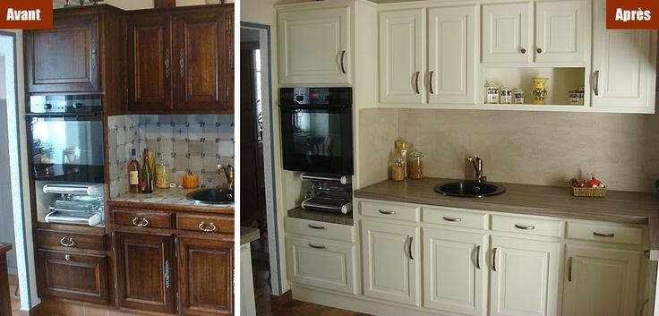 les 74 meilleures images du tableau 17 avant apr s de meubles relook s sur pinterest. Black Bedroom Furniture Sets. Home Design Ideas