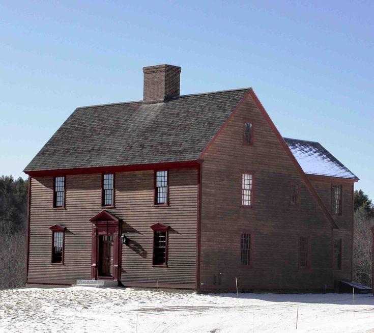 81 Best Saltbox Houses Images On Pinterest Saltbox