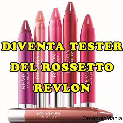 Diventa tester del rossetto Revlon ColorBurst Crayon - http://www.omaggiomania.com/cosmetici/diventa-tester-del-rossetto-revlon-colorburst-crayon/