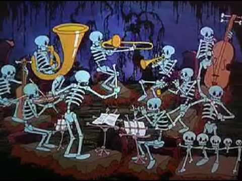Color Rhapsody: Skeleton Frolic 1937 by Ub Iwerks
