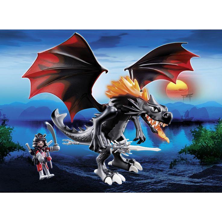 Playmobil - Nouveautés 2014 - Grand dragon royal et flamme lumineuse - 5482