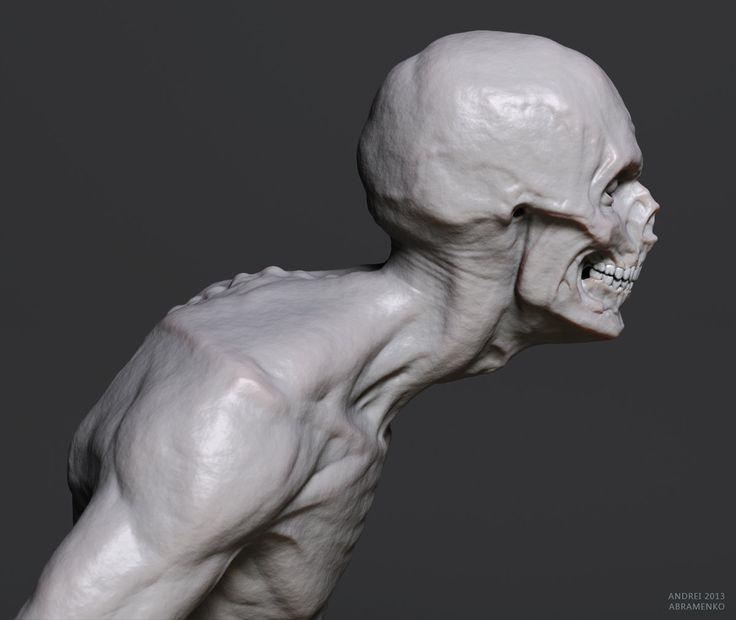 ArtStation - Zombie-1, Andrei Abramenko