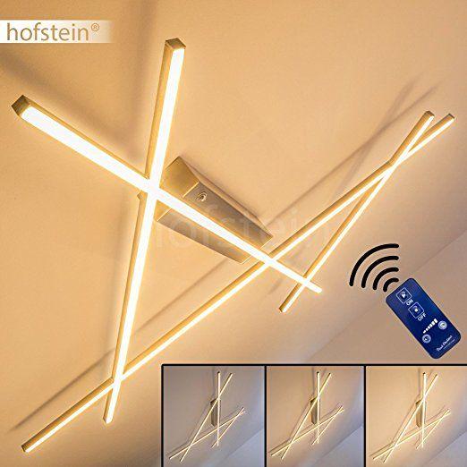 Deckenleuchte Dimmbar LED Lampe Mit Fernbedienung Zur Freien Regelung Der Lichtstimmung Deckenlampe Im Warmweissen