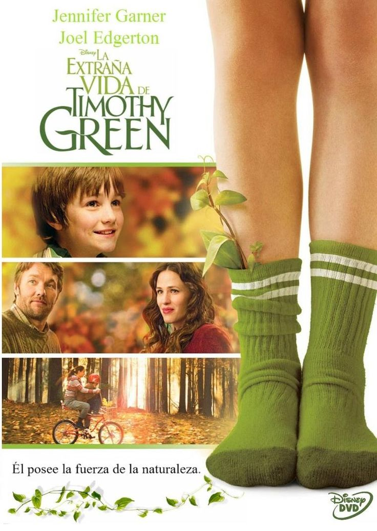 La extraña vida de Timothy Green (2012) EEUU. Dir: Peter Hedges. Drama. Fantástico. Familia. Infancia - DVD CINE 2403