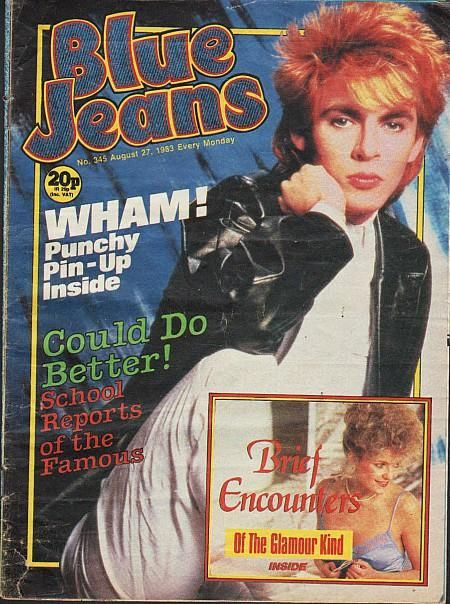 Blue Jeans Aug 1983 - Nick Rhodes Duran Duran