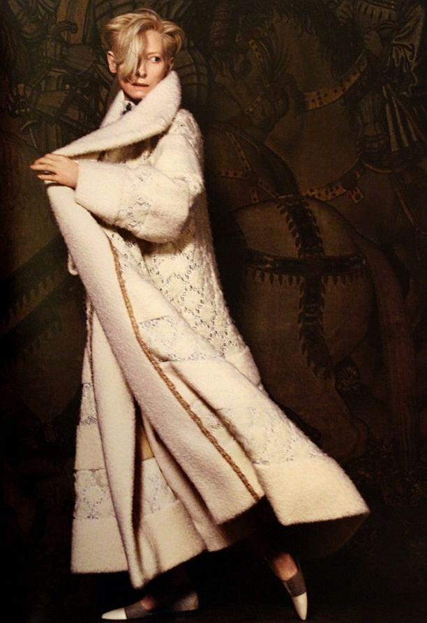 Tilda Swinton Chanel Paris-Edinburgh 2013 Campaign
