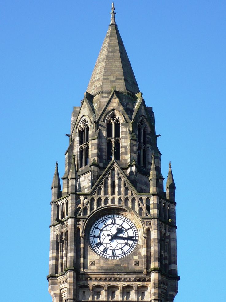 Rochdale Town Hall - Clock Tower | Rochdale Town Hall (built… | Flickr