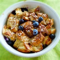 Blueberry Strata Allrecipes.com