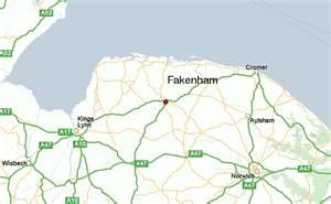 Fakenham, Norfolk, England.....