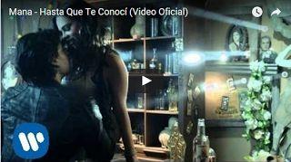 Banda Maná: Mana - Hasta Que Te Conocí (Video Oficial)