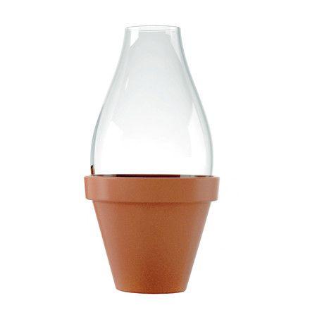 Slawinski & Co. GmbH Konstantin Slawinski - SL32 Fleur Vase, groß Terrakotta T:13 H:24 B:13