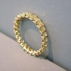 yellow diamond band - breath...take...'ing!
