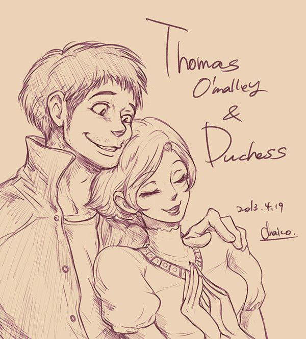 Humanized Disney - Thomas and Duchess