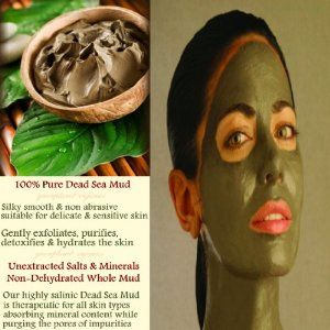 Silky Smooth Dead Sea Mud (100% Pure & Whole With Minerals and Salts Un-Isolated) (1 Pound) by GreenPlanet-Organics. $16.75. Very rich in whole un-isolated minerals including Potassium, Magnesium and Pure Salts. Silky smooth & non abrasive for even the most sensitive skins. Sourced from one of the most pristine & mineral rich part of Dead Sea (Only by GreenPlanet-Organics). Helps in skin regeneration. Absorbs minerals into the skin while purging pores of toxins. ...
