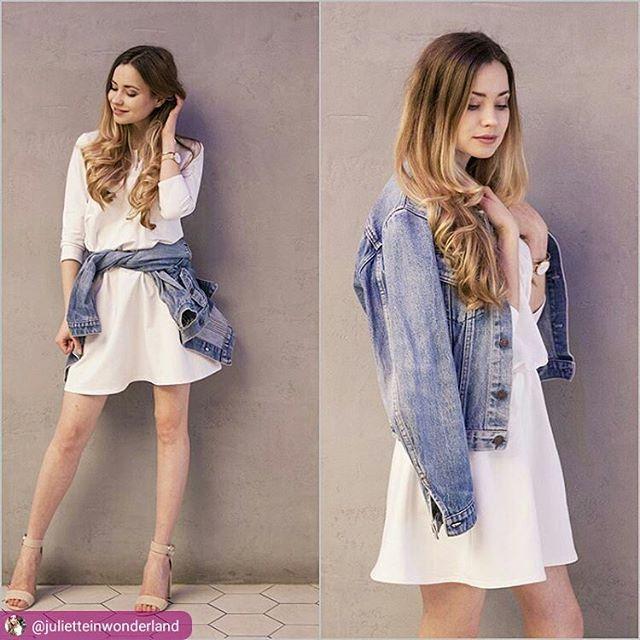 Julia w świetnej sukience od nas #naiastyle #zakupyonline #sukienka #dress #wiosna #lato #instablog #blogger