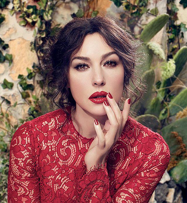 Monica Belluci for Dolce & Gabbana Classic Cream Lipstick, Spring 2014