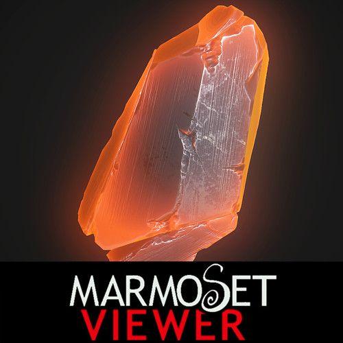 Lava crystal, Lukas Köhne on ArtStation at https://www.artstation.com/artwork/6vENn