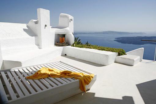 Cliffside Villa, Santorini, Greece