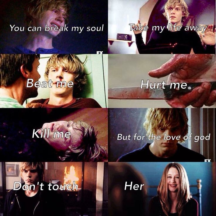 I would love to find someone who would say these things about me, to someone and mean it. I want to find someone you loves me as much as Tate loves violet. AMERICAN HORROR STORY