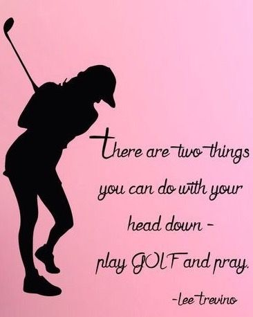 Golf inspiration for today from #lorisgolfshoppe | Lori's Golf Shoppe More