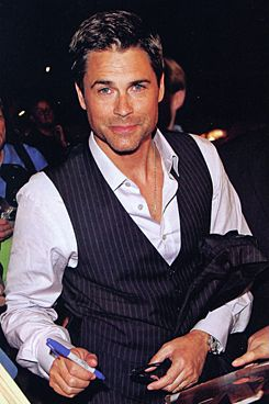 rob lowe! I will always love you...especially in St. Elmo's fire, pure beautiful man!