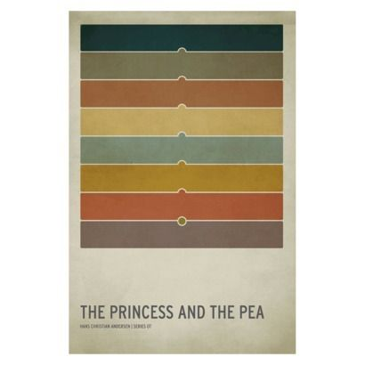 The Princess And Pea Unframed Wall Canvas Jackson