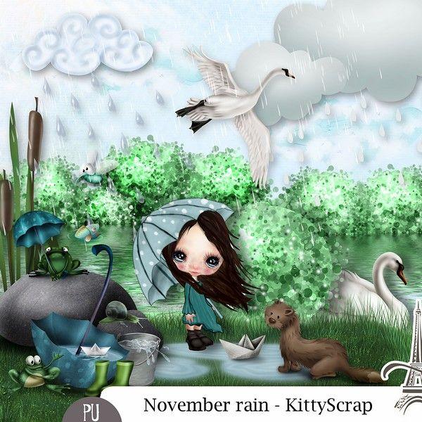 Le Blog de kittyscrap: ESSENTIEL : November Rain
