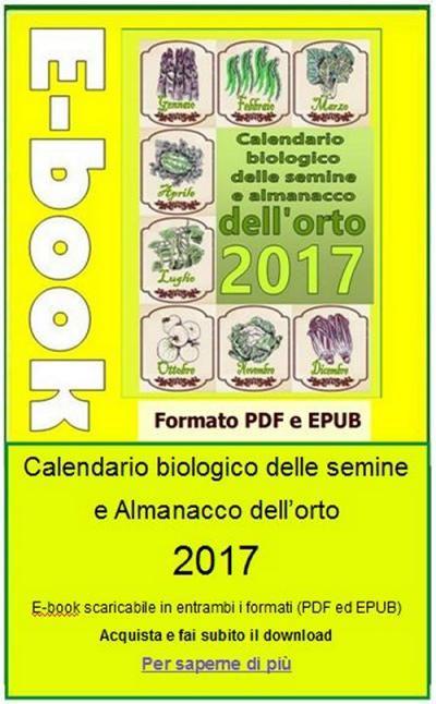 Calendario Delle Semine Pdf.Calendario Delle Semine Nell Orto Ottobre 2016 Coltivare