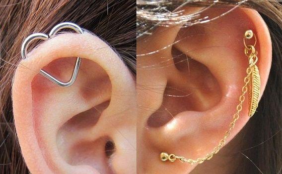 16 Maneras NUEVAS de usar Piercings en las OREJAS