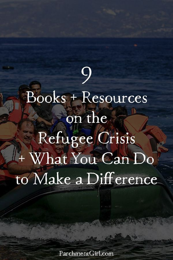 Want to learn more about the refugee crisis and what you can do to help? Check out these books + resources!