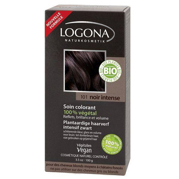 Soin Colorant 100% Végétal Noir Intense