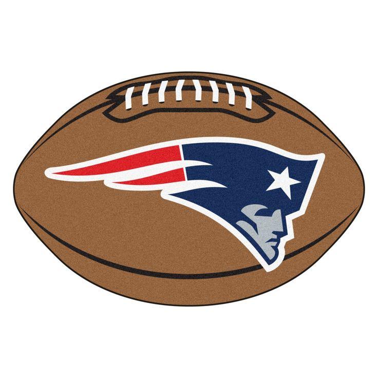 Fanmats NFL New England Patriots Football Mat