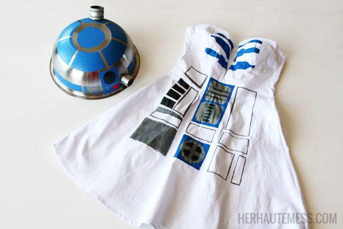 DIY Star Wars R2D2 Costume