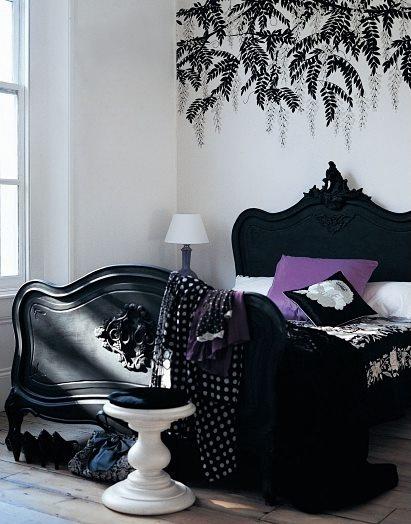 ... Design Die 124 Besten Bilder Zu House Ideas Auf Pinterest Tapeten,  Gothic   Magisches Lila Schlafzimmer ...