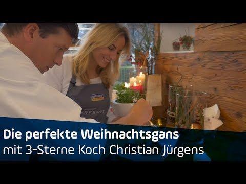 ANTENNE BAYERN   Die perfekte Weihnachtsgans   mit 3-Sterne-Koch Christian Jürgens - YouTube