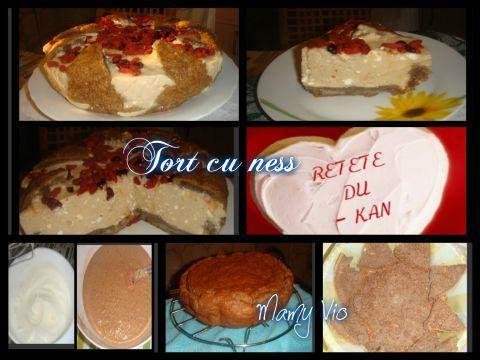 Tort cu nesss | Dieta Dukan