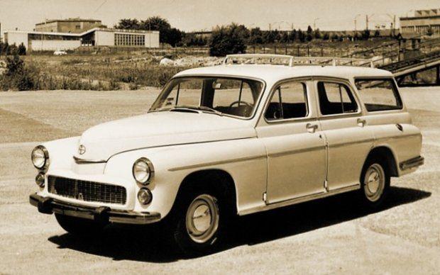 Warszawa Fso Hatchback Polish made car Warsaw hatchback