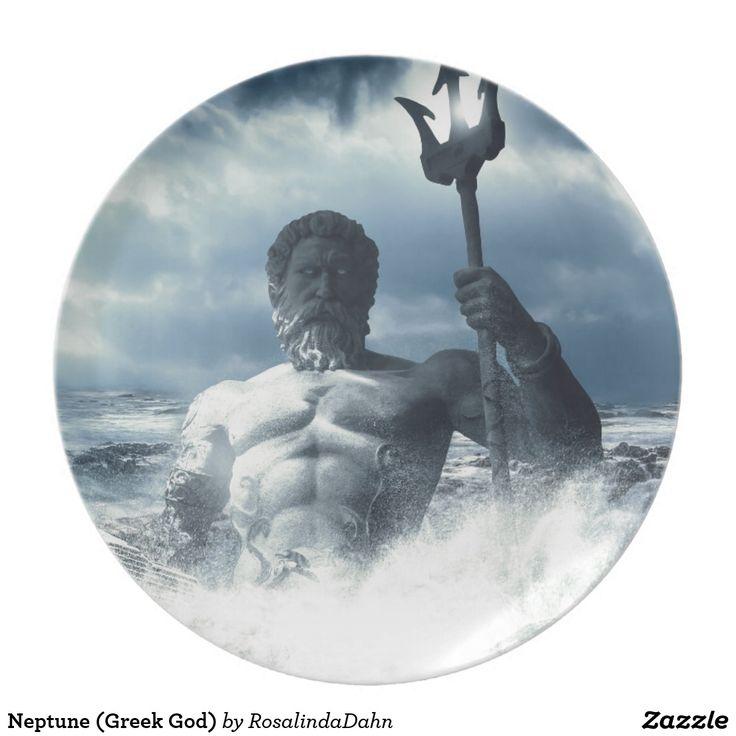 Neptun (griechischer Gott) Party Teller