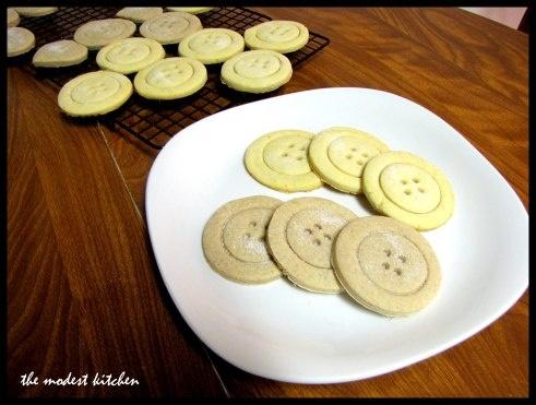 Button cookies - Cute!